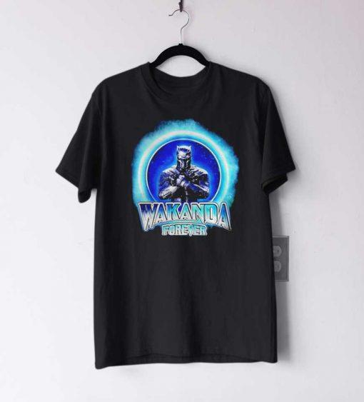 Black Panther Merchandise Wakanda forever T Shirt