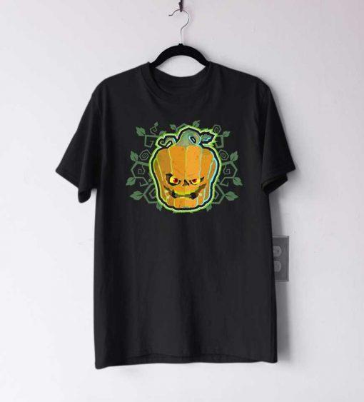 Evil Jack O Lantern Monster T Shirt
