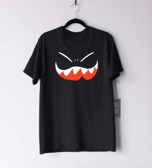 Funky Expression Halloween T Shirt