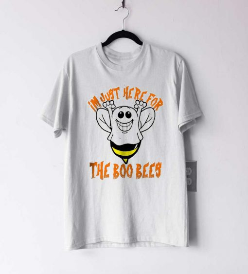I'm Just Here For The Boo Bees Halloween T Shirt