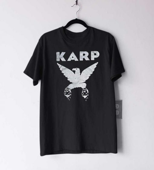 KARP band eagle logo T Shirt