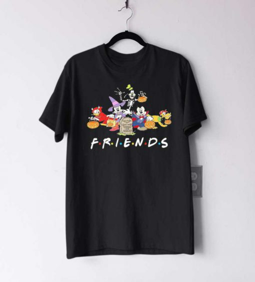 Mickey Mouse Friends Trick Or Treat Hallirtoween T Shirt