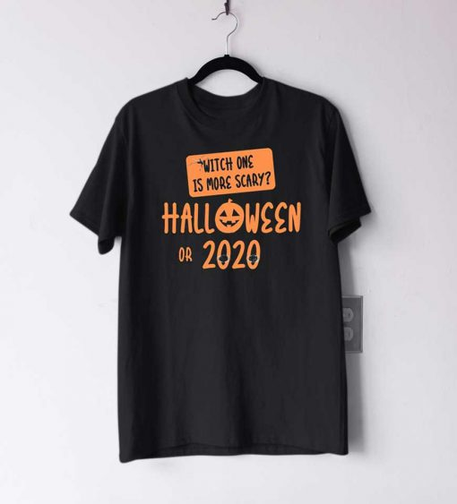 Scary 2020 Halloween T Shirt