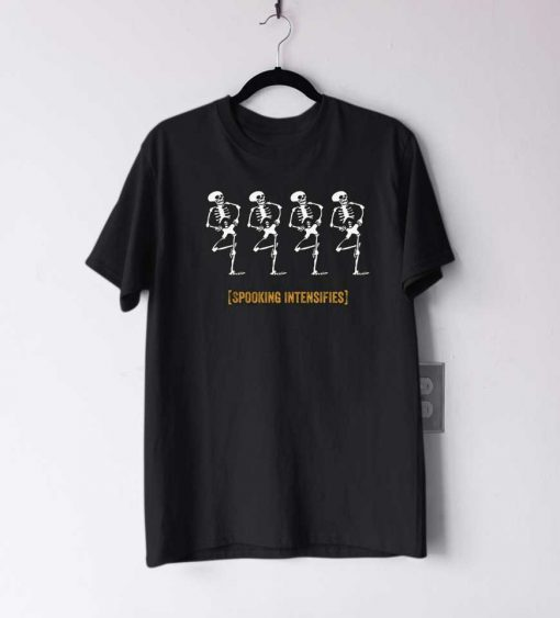 Spooky Scary Skeleton T Shirt