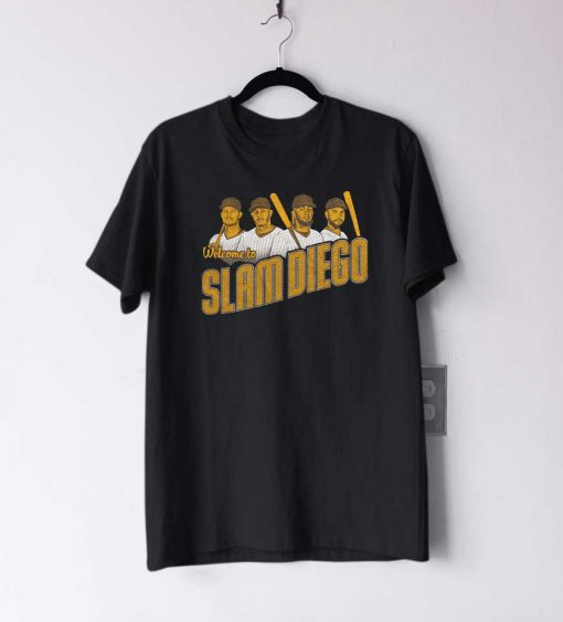 Welcome To Slam Diego T Shirt