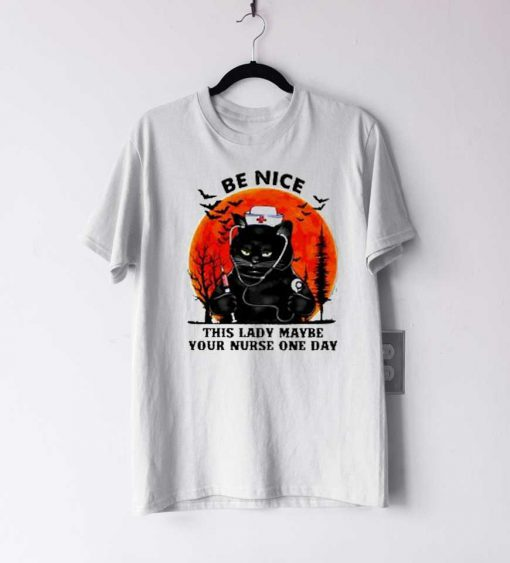 be nice this lady maybe T Shirt