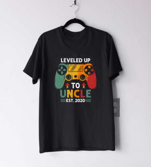 Leveled Up To Uncle T Shirt
