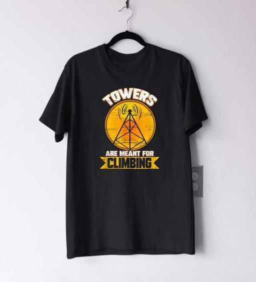 Cell Tower Climbing T Shirt