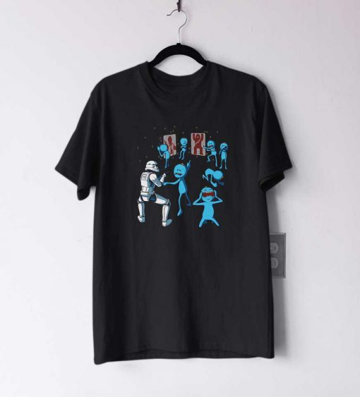 Mr Meeseeks Stormtrooper T Shirt
