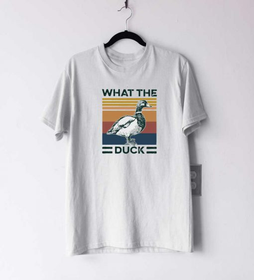 What The Duck Retro T Shirt